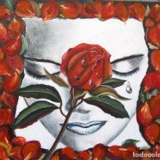 Arte: PETALOS DE ROSA. Lote 119560791