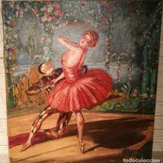 Arte: LOS BALLETS RUSOS. ESCUELA CATALANA CIRCA 1925.. Lote 119563743