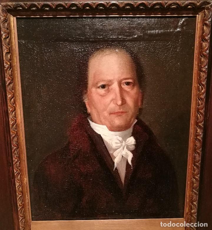 Arte: RETRATO DE CABALLERO ATRIBUIDO A FRANCISCO DE GOYA (1746-1828) - Foto 2 - 154638520