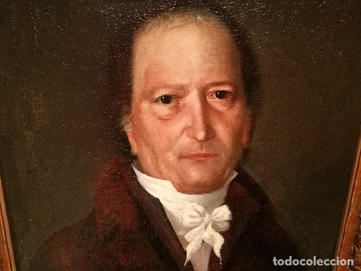 Arte: RETRATO DE CABALLERO ATRIBUIDO A FRANCISCO DE GOYA (1746-1828) - Foto 3 - 154638520