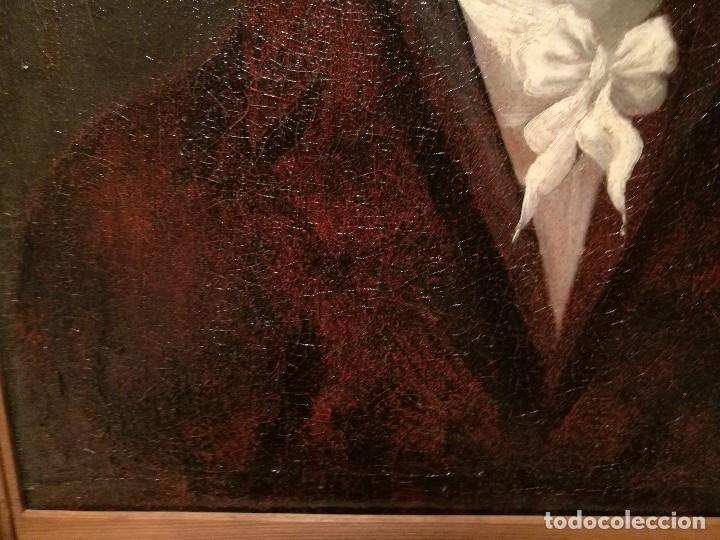 Arte: RETRATO DE CABALLERO ATRIBUIDO A FRANCISCO DE GOYA (1746-1828) - Foto 6 - 154638520