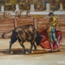 Arte: ACRILICO SOBRE TABLEX, 52X40,NO ENMARCADO.. Lote 119605003