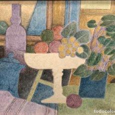 Arte: ÓLEO SOBRE TELA - 1975 - FRANCESC TODÓ - FIRMADO. Lote 119623055