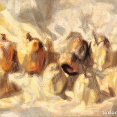 Arte: ÓLEO SOBRE TELA - 1962 - JOSEP ROCA SASTRE - FIRMADO. Lote 119876203