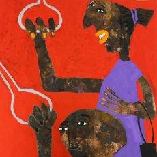 Arte: ELISABETH SABALA (1956). Lote 119937015