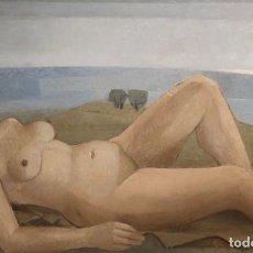 Arte: ÓLEO SOBRE TELA - 1955 - XAVIER VALLS - FIRMADO. Lote 119962631