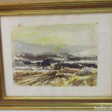 Arte: CUADRO EN MARCO DE MADERA, FIRMADO (1975). Lote 120218695