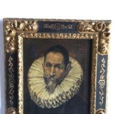 Arte: OLEO S. LIENZO DEL GRECO 1911. Lote 114285123