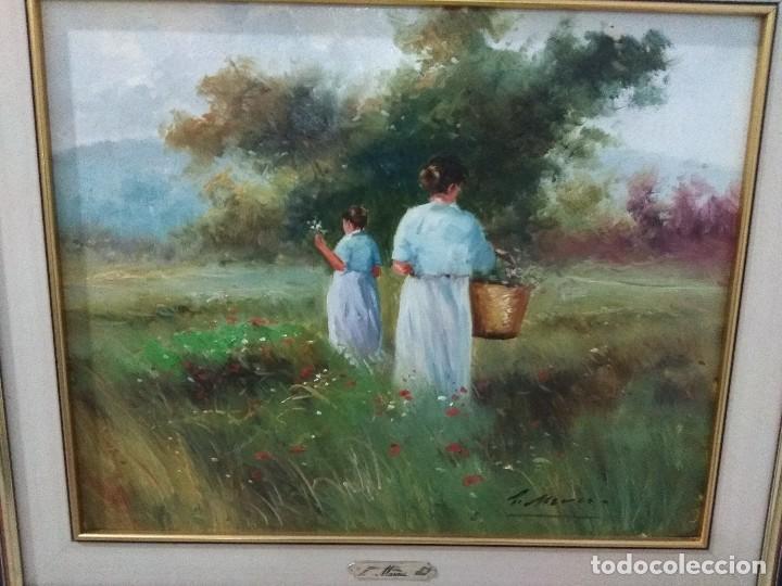 Arte: Óleo del pintor Pedro marco - Foto 2 - 120272555