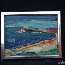 Arte: SIXTE BLASCO BRUGUERAS (BARCELONA, 1926-1996). OLEO, TELA/ CARTON DURO. FIRMADO, SIXTE.. Lote 120346543