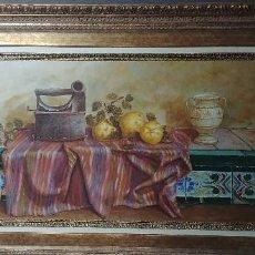 Arte: BODEGON FRUTAS . Lote 120401483