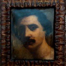 Arte: RETRATO A MARTÍ ALSINA. ÓLEO SOBRE TELA. SIN FIRMA. CIRCA 1850.. Lote 120424987