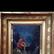 Arte: SAN JUAN, ÓLEO SOBRE COBRE, ESCUELA ITALIANA -S XVI. Lote 120439292