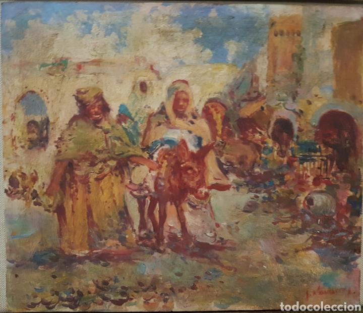 ARABES (Arte - Pintura - Pintura al Óleo Moderna sin fecha definida)