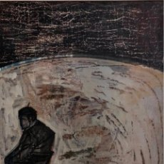Arte: ÓLEO SOBRE TELA - 1958 - JORDI CURÓS - FIRMADO. Lote 120527863