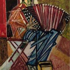 Arte: ÓLEO SOBRE TELA - 1957 - JORDI CURÓS - FIRMADO. Lote 120527935