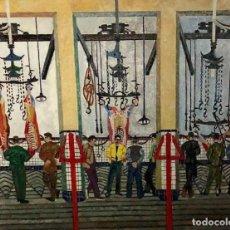 Arte: ÓLEO SOBRE TELA - 1956 - JORDI CURÓS - FIRMADO. Lote 120528083