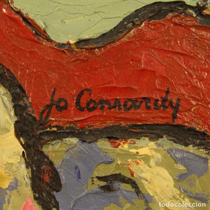 Arte: Pintura impresionista desnudo de mujer óleo sobre lienzo - Foto 4 - 120621071