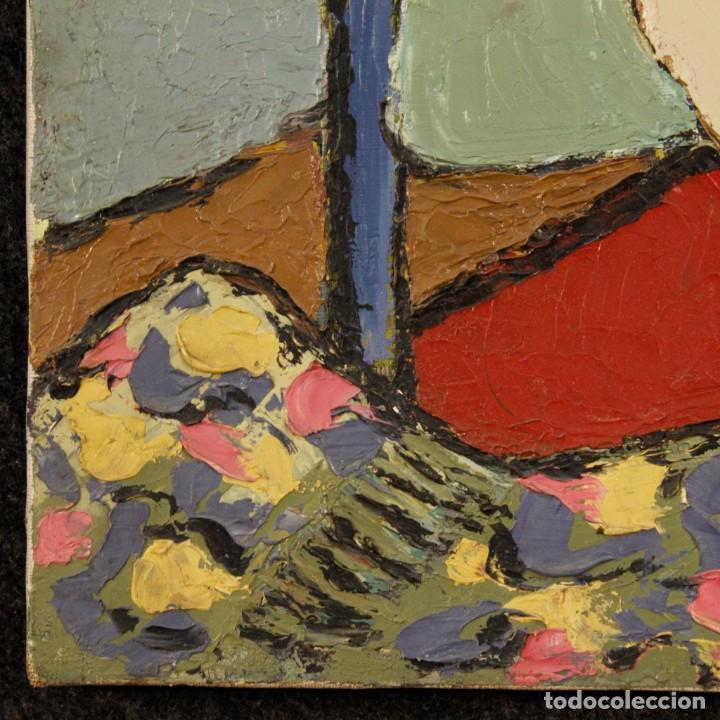 Arte: Pintura impresionista desnudo de mujer óleo sobre lienzo - Foto 5 - 120621071