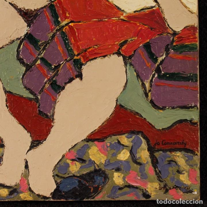 Arte: Pintura impresionista desnudo de mujer óleo sobre lienzo - Foto 8 - 120621071