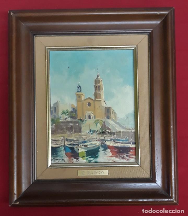 OLEO SOBRE LIENZO FIRMADO (Arte - Pintura - Pintura al Óleo Contemporánea )