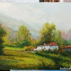 Arte: PAISAJE CON CASA POR ANTONIO NAVARRO SERRALTA. Lote 120763459