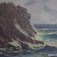 Arte - Rocas Junto al mar.Albert Pala. - 120856315