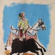 Kunst - PICADOR - OBRA TAURINA FIRMADA Y FECHADA 1966 - 120896359