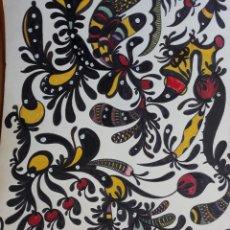Arte: ABSTRACTO SOBRE CARTULINA. Lote 120899527