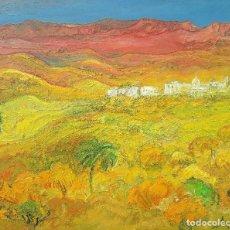 Arte: ULPIANO CARRASCO VALERO - CERCA DE FUYAIRA, EMIRATOS - ÓLEO. Lote 120968203