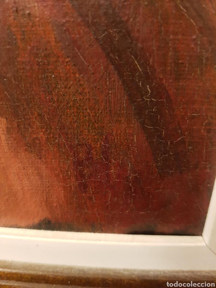 Arte: PAREJA DE OLEOS, SANTA TERESA Y CARDENAL,FIRMADOS PAL, MUY INTERESANTES,. 26X32CM - Foto 3 - 120971687