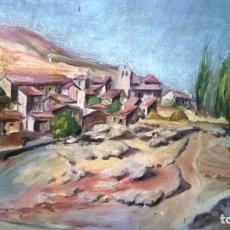Arte: CUADRO AL ÓLEO ANTIGUO GRAN COLORIDO Y CALIDAD. Lote 121070027