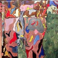 Arte: CAZADOR CON SU PRESA, POR JOSÉ RAMÓN RUANO FERNÁNDEZ-HONTORIA (MADRID 1951). Lote 121096663