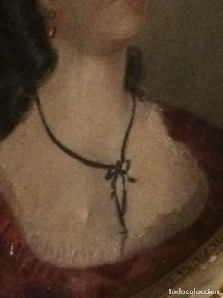 Arte: Oleo sobre tela retrato de Maria Antonieta - Foto 3 - 121139439