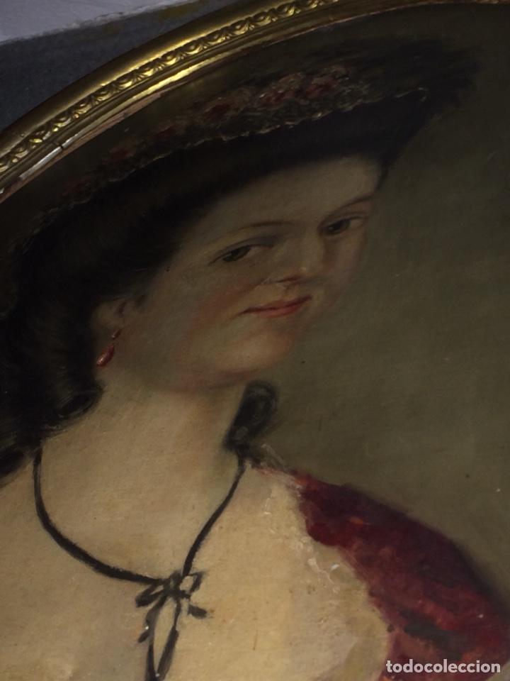 Arte: Oleo sobre tela retrato de Maria Antonieta - Foto 6 - 121139439