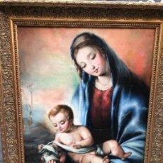 Arte: MAGNIFICA VIRGEN CON EL NIÑO, ESCUELA ITALIANA, S. XVIII-XIX. Lote 136736800