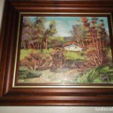 Arte: CUADRO OLEO DECORACION FIRMADO POR EL AUTOR - REY -. Lote 121634595