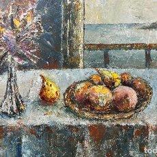 Arte: JULIO FERNANDEZ ARGUELLES. (ARTORGA-LEÓN, 1923-CORUÑA 2002). MIRANDO EL MAR.. Lote 122091683