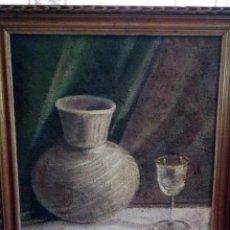 Arte: OLEO SOBRE TELA DE SACO,85/72,ANTIGUO BODEGON. Lote 122302224