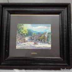 Arte - Gallinero- Pere Danes Berga Escuela de Olot - 122443795