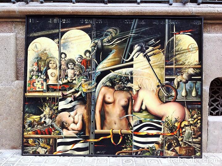 CUADRO ÓLEO DEL PINTOR RICARD JORDÀ (Arte - Pintura - Pintura al Óleo Moderna sin fecha definida)