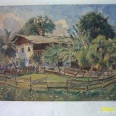 Arte: ALBERTO ZIEGLER WAGNER (MUNICH, 1898) ÓLEO/TELA. 64 X 47 CM. FIRMADO: ALB. ZIEGLER, MADRID. TITULADO. Lote 122563227