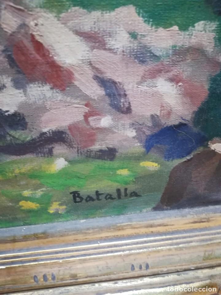 Arte: Cuadro de el artista Batalla, con marco - Foto 9 - 122573663