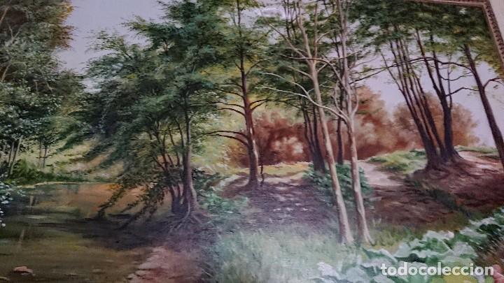 Arte: ÓLEO SOBRE LIENZO GRAN TAMAÑO FIRMADO GONZÁLEZ - Foto 2 - 122591439
