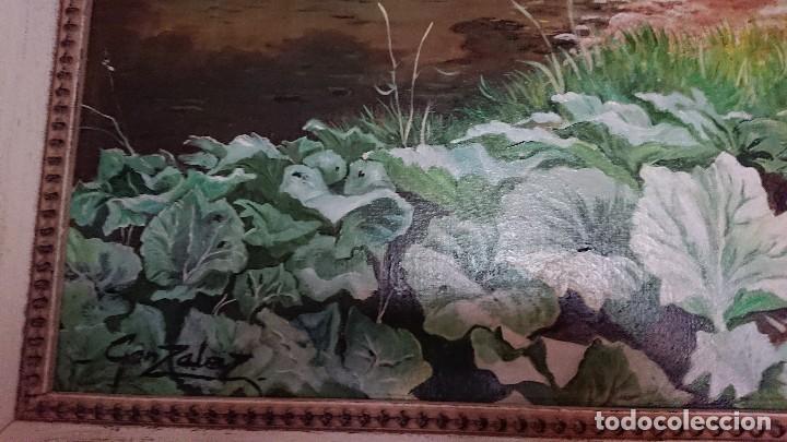 Arte: ÓLEO SOBRE LIENZO GRAN TAMAÑO FIRMADO GONZÁLEZ - Foto 5 - 122591439