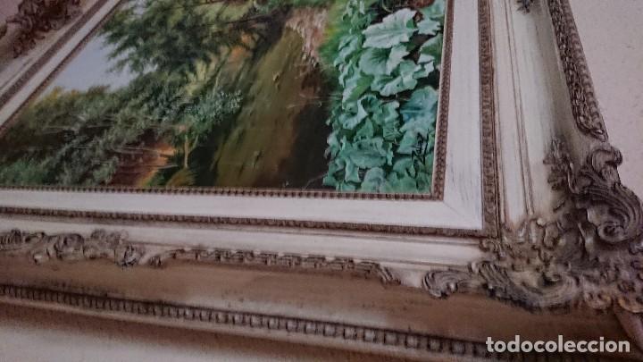 Arte: ÓLEO SOBRE LIENZO GRAN TAMAÑO FIRMADO GONZÁLEZ - Foto 10 - 122591439