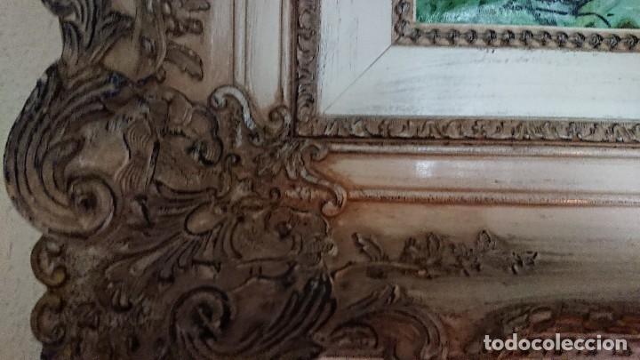 Arte: ÓLEO SOBRE LIENZO GRAN TAMAÑO FIRMADO GONZÁLEZ - Foto 11 - 122591439