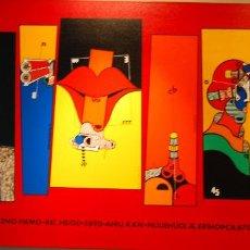 Art: OSWALDO AULESTIA OLEO ORIGINAL 240CM X 122CM. Lote 122958087