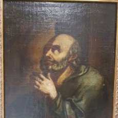 Arte: ÓLEO SAN PEDRO S.XVII. Lote 122958123