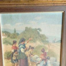 Arte: JOSÉ BARTA BERNARDOTA EN EL TRIGAL. ÓLEO LIENZO. Lote 122967371